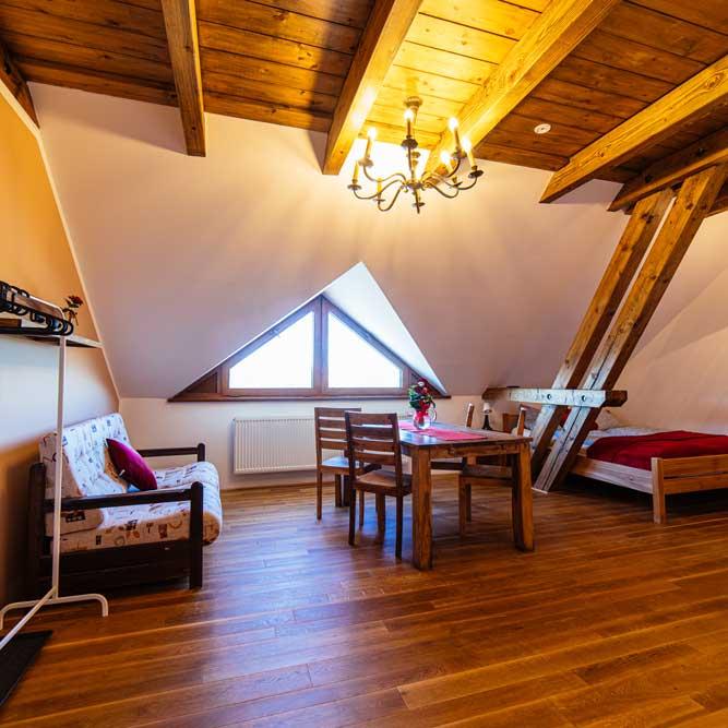 Dvojlůžkový apartmán Ranč Milovice