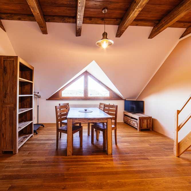 Two bedroom apartment Ranch Milovice