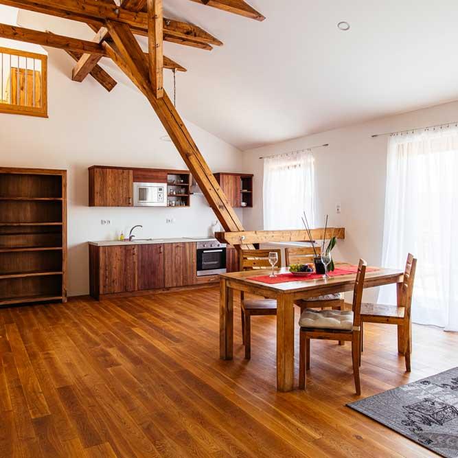 Wedding double bedroom apartment Ranch Milovice